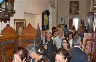 وفد مدينة بافوس القبرصية يزور مكتبة الإسكندرية ومتحف كفافيس | صور
