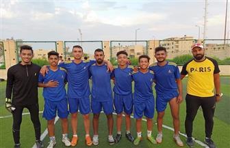 مركز شباب العريش يحصد المركز الأول في تصفيات أوليمبياد المحافظات الحدودية لكرة القدم | صور