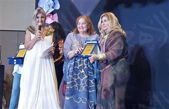 تكريم سهير رمزي بمهرجان الإبداع المصري للأزياء| صور