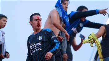 صراعات المكسيك تصل كرة القدم