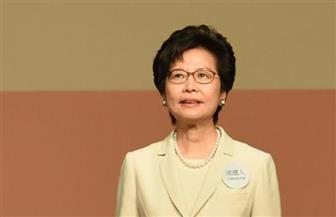 زعيمة هونج كونج تعتذرعلى إطلاق مياه على مسجد خلال الاحتجاجات