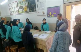 بعد شائعة الالتهاب السحائي.. وكيل تعليم الإسكندرية يتفقد عددا من المدارس لمتابعة انتظام الدراسة
