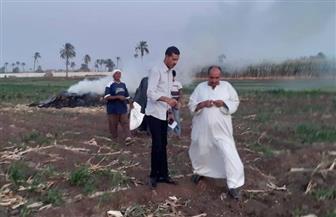 محافظ أسيوط: تحرير 175 محضرا بسبب عمليات حرق المخلفات الزراعية | صور