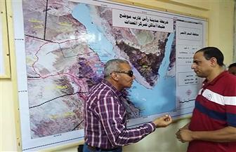 الانتهاء من تجهيز غرفة عمليات الأزمات والكوارث بمدينة رأس غارب | صور
