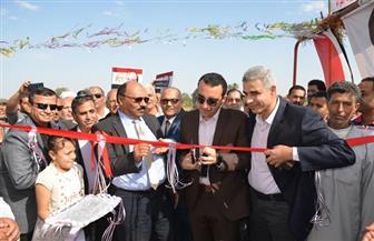 نائب محافظ الإسماعيلية يفتتح محطة رفع صرف بقرية أبو عاشور بتكلفة 10 ملايين جنيه
