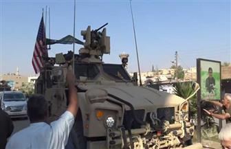 مواطنون أكراد يقذفون القوات الأمريكية بالبطاطس والطماطم | فيديو