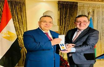سيمور نصيروف: نقيب الأشراف له دور بارز في العلاقات المصرية الأذربيجانية