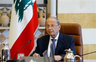 عون: لا سلام مع إسرائيل  فى ظل الاحتلال .. ولا دور لحزب الله فى انفجار مرفأ بيروت