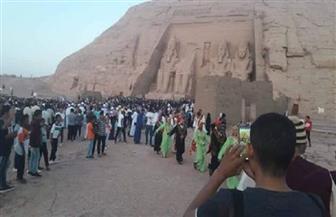"""محافظ أسوان: احتفالية تعامد الشمس توجه مجموعة من الرسائل إلى العالم أهمها أن """"مصر آمنة"""""""
