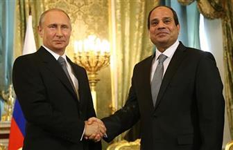 الرئيسان السيسي وبوتين يترأسان اليوم الجلسة الافتتاحية لاجتماعات المنتدى الاقتصادى الإفريقي - الروسي