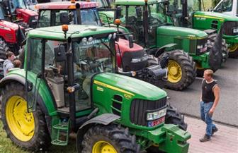 مظاهرة بالجرارات لمزارعي ألمانيا