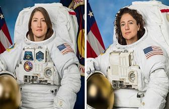 """""""الأمريكيتان """"أول ثنائي نسائي يسير في الفضاء"""