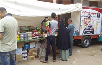 محافظ كفر الشيخ يكلف رئيس دسوق بمتابعة قافلة محاربة الغلاء بقرية شابة | صور