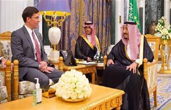 خادم الحرمين ووزير الدفاع الأمريكي يبحثان أوجه التعاون بين البلدين