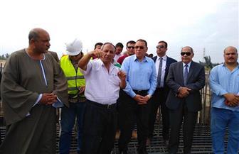 محافظ الشرقية يتفقد إنشاء محطة مياه البكارشة بالحسينية| صور