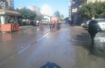 أمطار متوسطة على مدن وقرى كفر الشيخ | صور