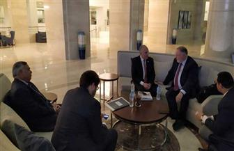وزير الري يلتقي رئيس مجلس المياه العالمي على هامش أسبوع القاهرة الثاني للمياه