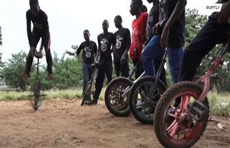 الدراجة الأحادية.. مصدر دخل للأطفال في نيجيريا | فيديو