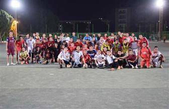 انطلاق بطولة خماسي كرة القدم للمدن الجامعية بسوهاج