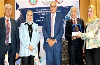 افتتاح المؤتمر السنوي لقسم جراحة العظام بجامعة المنصورة