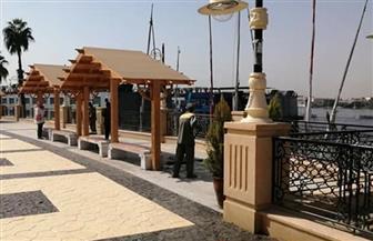 استكمال أعمال إحلال وتجديد طريق كورنيش النيل بالأقصر| صور