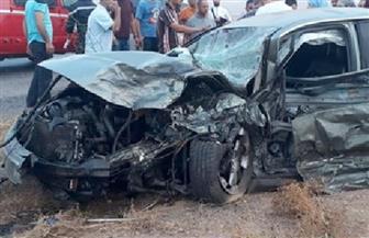بالأسماء.. مصرع 4 أشخاص وإصابة 6 آخرين بينهم عروسان في تصادم أتوبيس مع سيارة ملاكي بالغربية