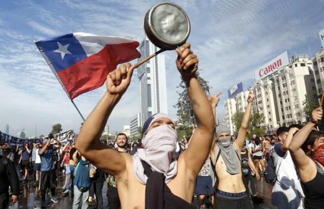 اليوم وغدا.. إضراب عام في تشيلي بسبب ارتفاع الأسعار والتجاوزات -