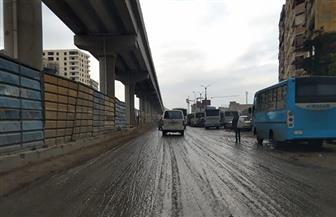 رغم الاستعداد والتنسيق بين مختلف الجهات.. العاصمة تغرق في مياه السيول والمرور يختنق | صور