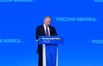 بوتين: التعاون مع إفريقيا يجري وفق مبدأ المصالح المتبادلة بين الأطراف