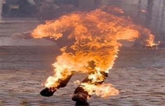 بدء التحقيق في واقعة حرق صاحب كشك بحلوان