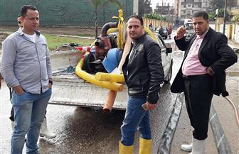الأمطار تغرق شوارع البحيرة والمحافظة تعلن حالة الطوارئ | صور