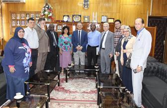 جامعة طنطا تبحث مع وفد نيجيري سبل التعاون في القطاع الطبي | صور