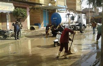 أمطار غزيرة على مدن وقرى كفرالشيخ تغرق الشوارع وتوقف الصيد وتقطع الكهرباء | صور