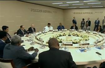 ثمار قمة سوتشي.. 30 مليار دولار لتمويل مشروعات بإفريقيا ومصر لها نصيب الأسد | صور
