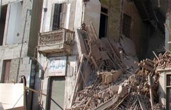انهيار 3 منازل بالمنوفية بسبب الأمطار