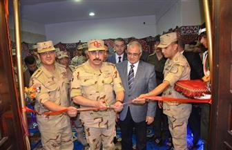 افتتاح مقر قسم التجنيد والتعبئة بالإسماعيلية بعد التطوير والتجديد | صور