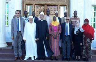 صالح عباس: الأزهر يعمل على دعم إفريقيا في ضوء رئاسة مصر للاتحاد | صور