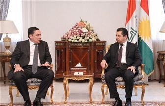 بارزاني والسفير البريطانى يبحثان تطوير العلاقات الثنائية ودعم كردستان