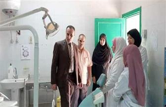 وكيل الصحة بسوهاج يتفقد أقسام مستشفى جهينة المركزي في زيارة مفاجئة| صور