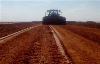 إعادة فتح طريق (سيوة - مرسى مطروح) بعد إزالة تجمع مياه الأمطار | صور