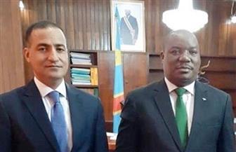 السفير المصري يبحث مع وزير البيئة الكونغولي تعزيز التعاون المشترك في مجال إدارة الموارد المائية