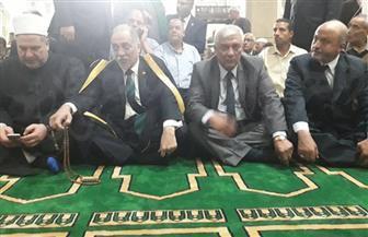 مؤتمر حاشد للطرق الصوفية بمسجد سيدي إبراهيم الدسوقي بمدينة دسوق احتفالا بمولده | صور