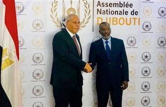 رئيس البرلمان الجيبوتي يستقبل سفير مصر