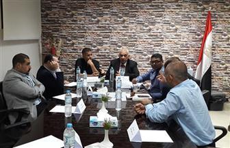 وفد الرقابة الصحية برئاسة الجمهورية يجتمع بمديري مستشفيات الأقصر   صور