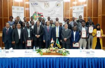 احتفالية تخريج 28 متدربا في مجالات الكهرباء من 15 دولة إفريقية | صور