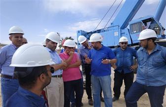 """رئيس """"ويبكو"""": إنجاز 95% من أعمال منظومة الشحن البحري الجديد بميناء الحمراء"""