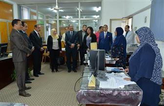 محافظ أسيوط يستقبل وفد مركز التوثيق الاستراتيجي بمجلس الوزراء | صور