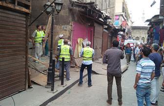 وزارة الآثار: إزالة التعديات على مسجد الفكهاني بالغورية | صور