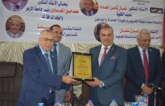 رئيس جامعة الأزهر يشيد بطالبات كلية الدراسات الإسلامية والعربية للبنات بسوهاج