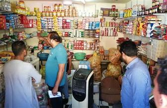 ضبط مواد غذائية غير صالحة للاستهلاك الآدمي بمدينة الطود | صور